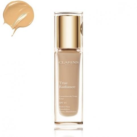 Base Maquillaje True Radiance - CLARINS. Perfumes Paris