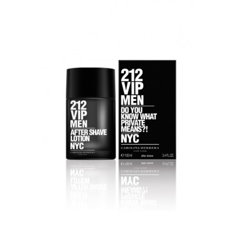 212 VIP Men After Shave Lotion 100ml - CAROLINA HERRERA. Perfumes Paris