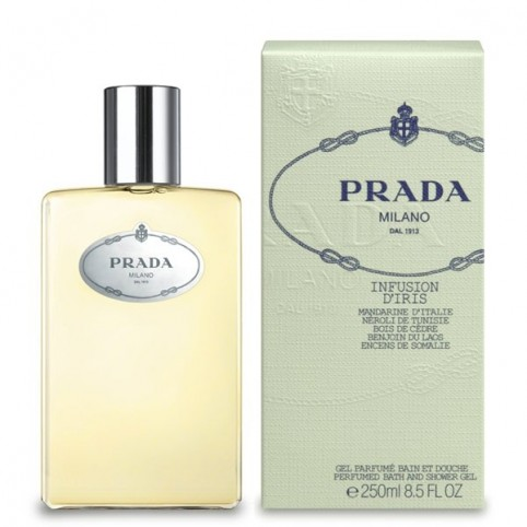 Infusion d'Iris Shower Gel - PRADA. Perfumes Paris