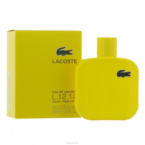 Eau de lacoste l.12.12 amarilla edt 50ml - LACOSTE. Perfumes Paris