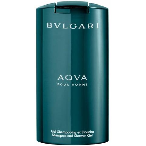 Bvlgari aqva homme shampoo-gel 200ml@ - BVLGARI. Perfumes Paris