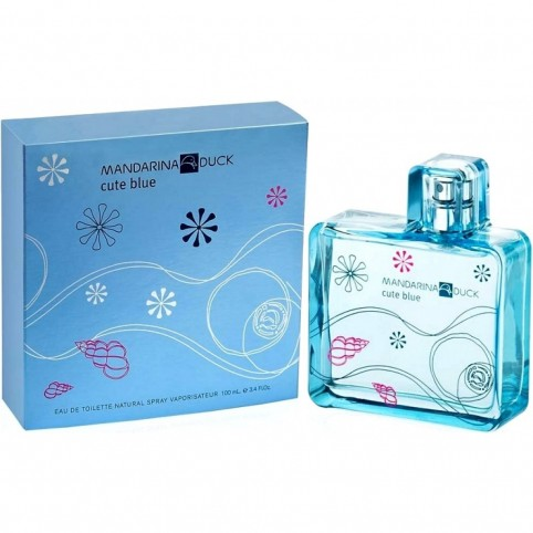 Mandarina duck cute blue woman edt 100ml - MANDARINA DUCK. Perfumes Paris