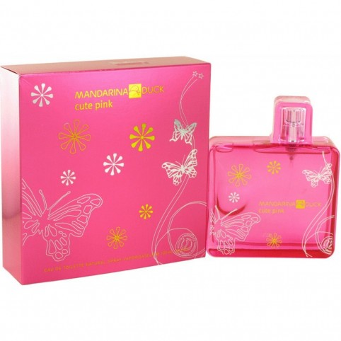 Mandarina duck cute pink woman edt 100ml - MANDARINA DUCK. Perfumes Paris